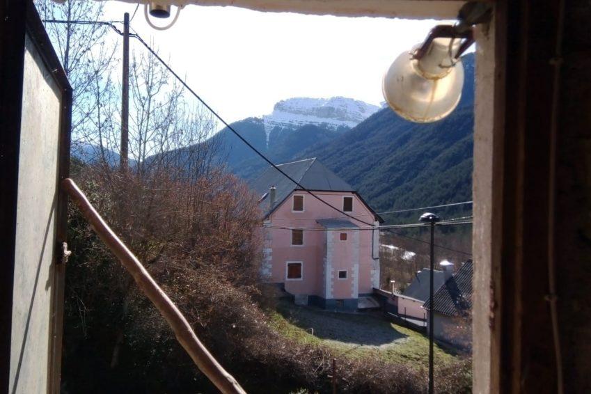 Vistas desde la buhardilla casa