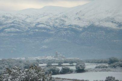 Sierra con nieve